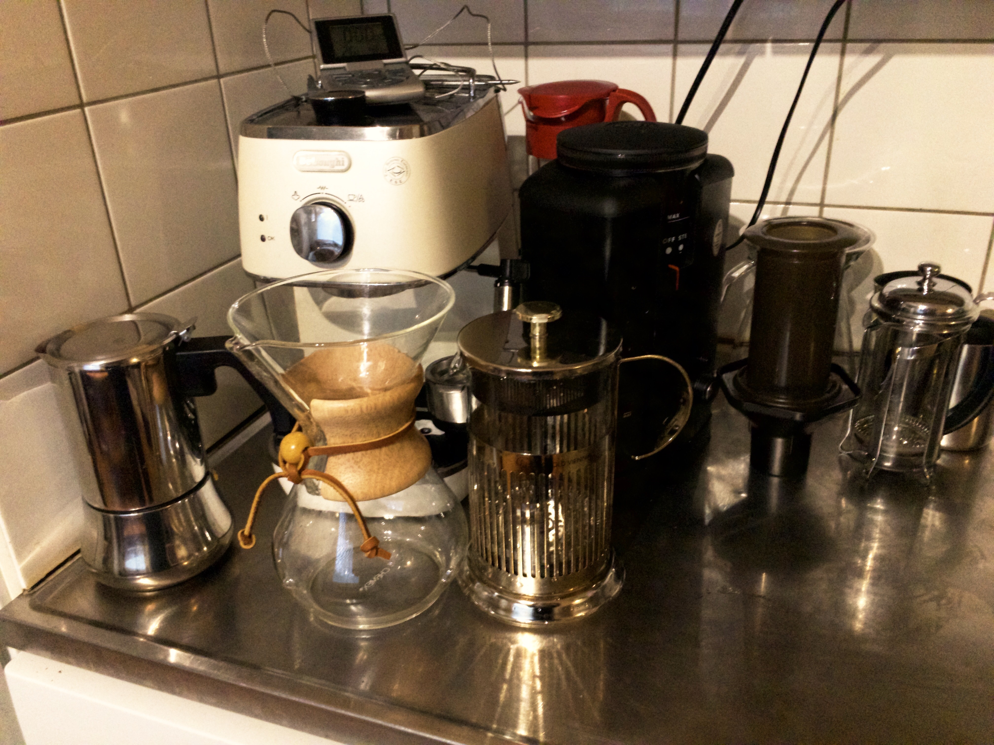 My coffee equipment